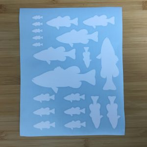 Largemouth Bass Sheet